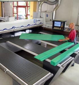 CNC Plastics processing at K&E