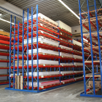 wrought material storage at Arthur Krüger